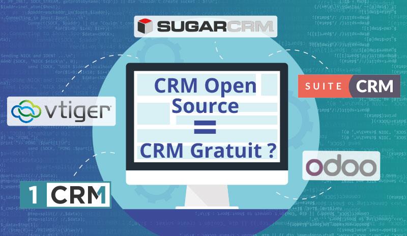 CRM Open Source = CRM gratuit ?